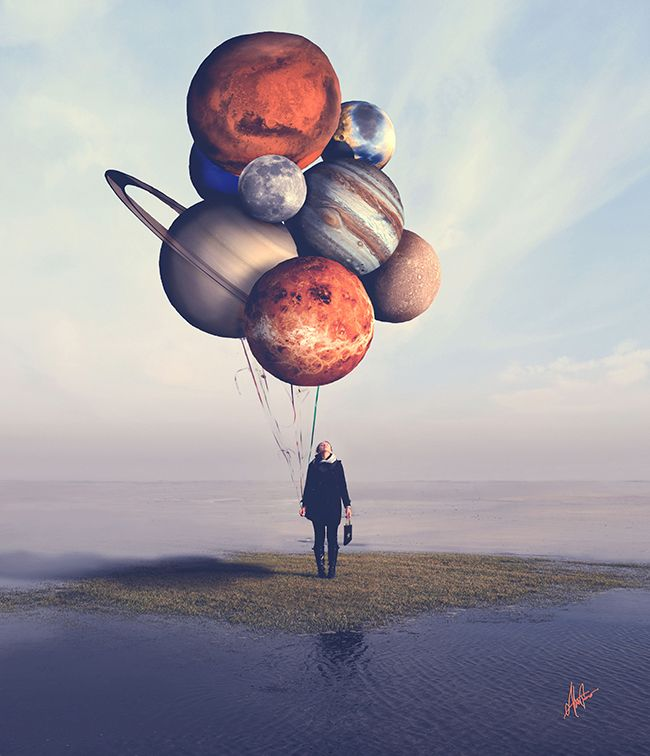 Best Fine Art PortraitsCompositing Images On Pinterest - Photographer uses photoshop to create surreal dreamy composite images