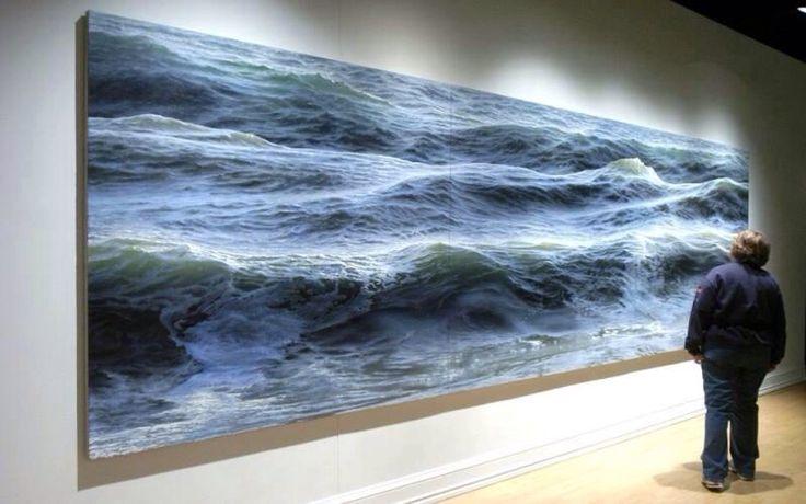 @claudiberenguer: Pinturas del artista Ran Ortner http://t.co/Uxup4tTjLb