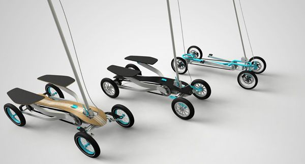 STP - Step Scooter by Benk Koros