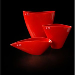 DecorOnline.cz Porcelánová váza Ardour three velikosti Velikost: 31 x eight x 12 cm