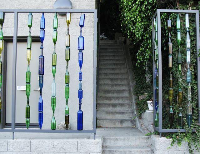 Muro de garrafas