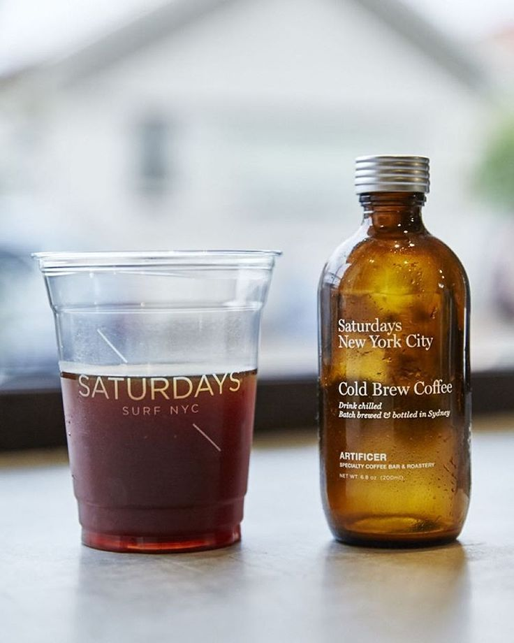 cold brew coffee / by Saturdays NYC