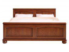 Manželská postel 160 cm - BRW - BAWARIA - DLOZ 160 http://www.hezkynabytek.cz/postele-8/manzelske-2509/