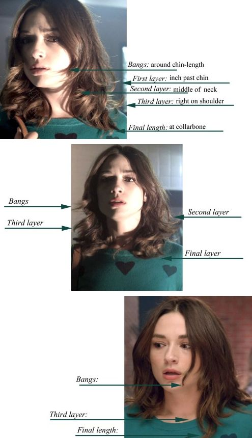 Allison Argent (Crystal Reed)'s hair from season 3 of Teen Wolf. Adorable.