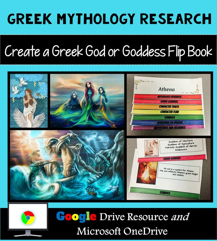 Let your students creativity shine with the Greek Mythology Research-Based Layered Interactive Flip Book! Includes all the research resources students need to create this stunning hands-on project!
