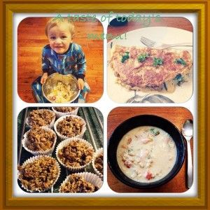 Cauliflower Soup and Coco, Choco Apricot Muffins