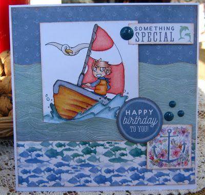 Artfull Crafts: Christine - Mermaid Tales Cards