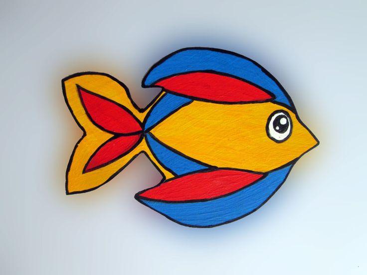Imãs de geladeira - Peixes 036 / Magnets - Fishes 036