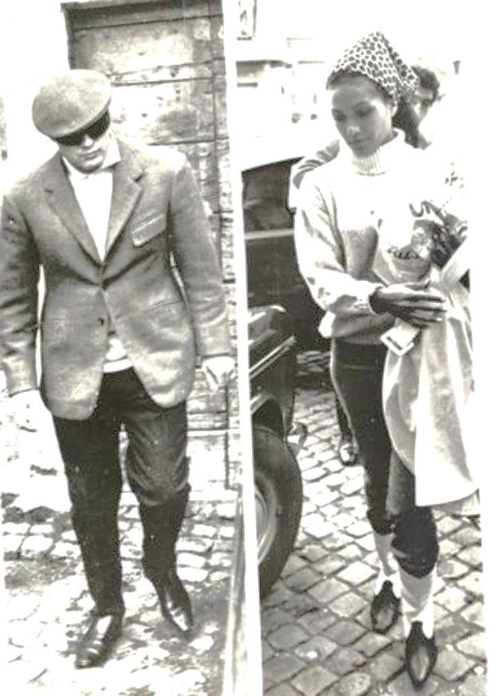 The Brandos in 1966.