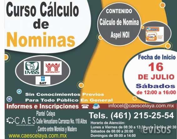 Curso de Calculo de NOMINAS  Curso de Calculo de NOMINAS  Curso de Calculo de NOMINAS                                             ...  http://celaya.evisos.com.mx/curso-de-contabilidad-para-no-contadores-id-600028