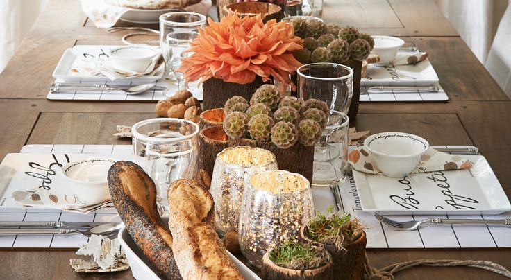 Celebration with family? Only with Riviera Maison - they still have a fantastic ideas for living and ... eating:)