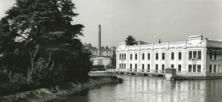 Gabriele Basilico, 'Cassano d'Adda, centrale idroelettrica Pietro Rusca' (1987) Museo di fotografia contemporanea, Archivio dello Spazio #Milan