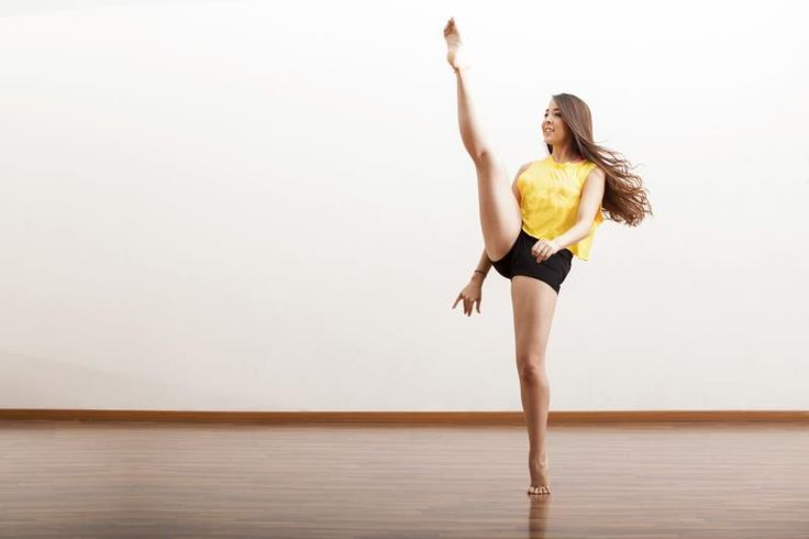 Dancers refer to leg extensions as the lifting of one leg to the front or the side of the body. Leg extensions occur in ballet, modern dance, jazz and other types of dance. These movements can be energetic and vigorous, as in a grand battement or high leg kick, or slow and controlled, as in a développé. Improvement in the height of leg...