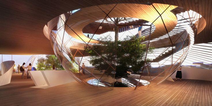 azerbaijan pavilion expo milan 2015 simmetrico network designboom