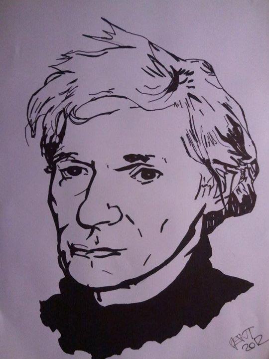Andy Warhol, A4, lihové fixy