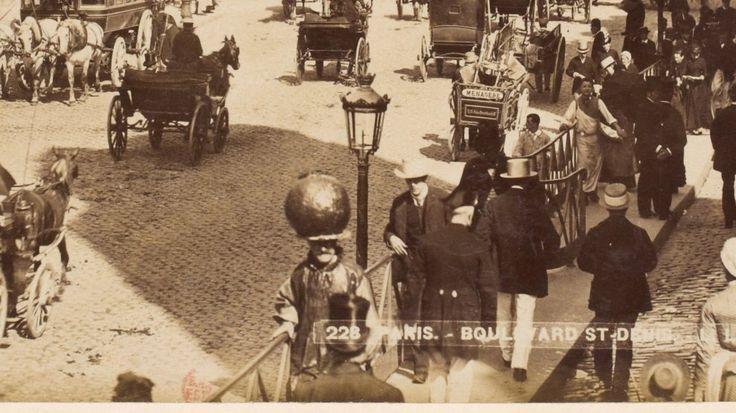 Monsieur à la boule, 1889