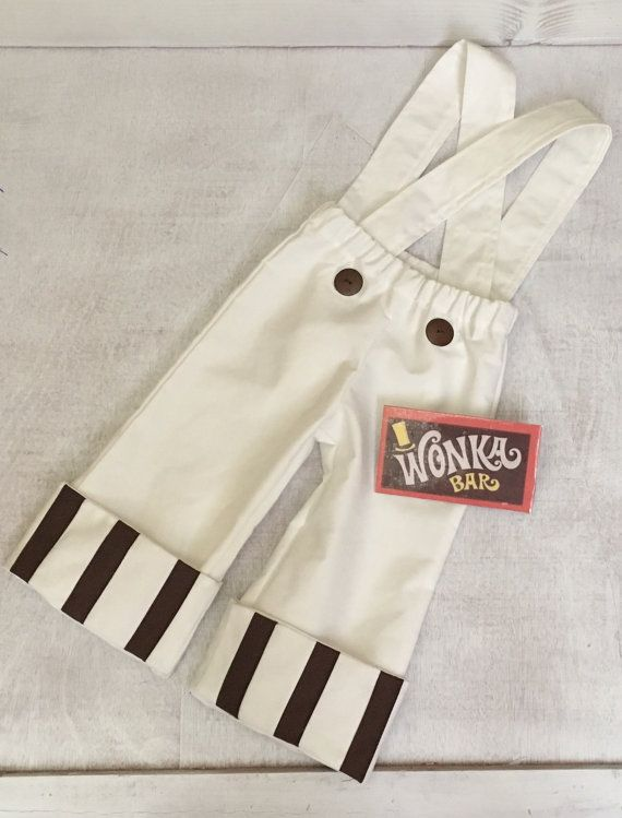 Baby and Kids Willy Wonka Oompa Loompa Inspired Costume