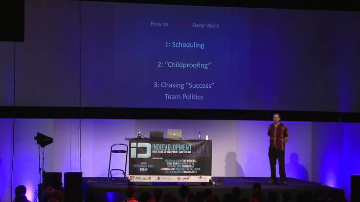 Indie developer Jonathan Blow's 2014 speech on how to design deeper game experiences is inspiring.