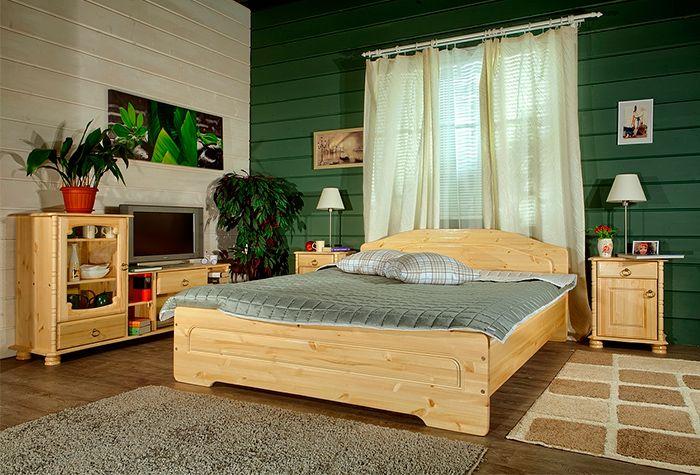 Спальня «Эрика» из массива карельской сосны (комплект 2)