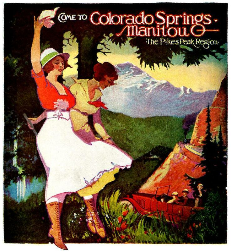 Pikes Peak In Colorado Springs: 17 Best Images About Colorado Travel Posters On Pinterest