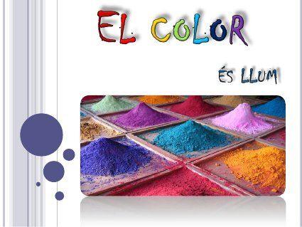Tema 2 · Teoria del color · 1a part
