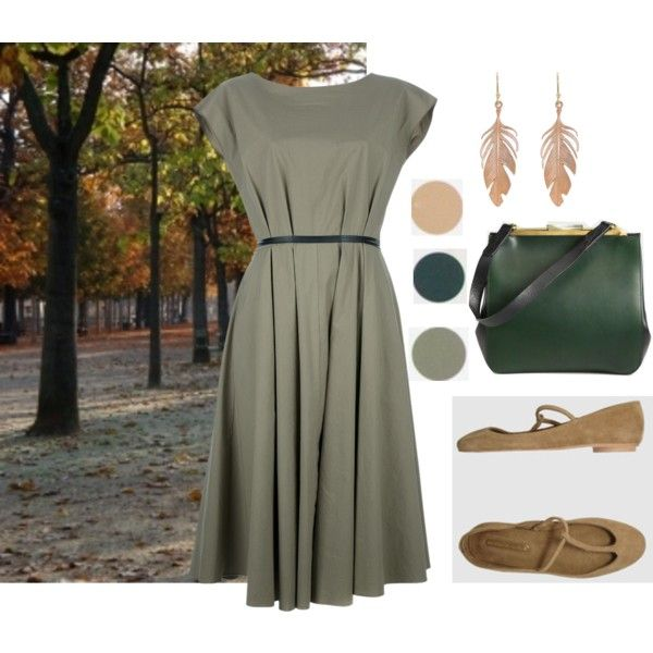 Soft Autumn by vesna on Polyvore featuring Hache, Les Prairies de Paris, Marni and Annette Ferdinandsen