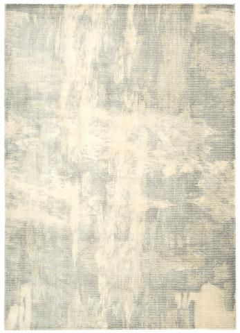 Maya Wool and Viscose Area Rug in Dew design by Calvin Klein Home