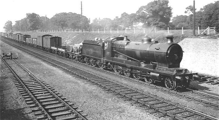BR (GWR)  Robinson ROD 30XX class  2-8-0