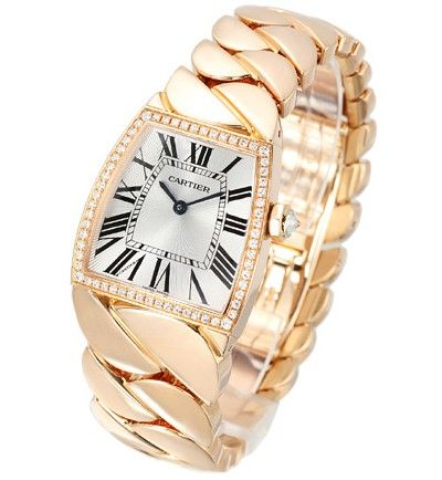 Cartier La Dona Small 18kt Rose Gold Ladies Watch WE60060I