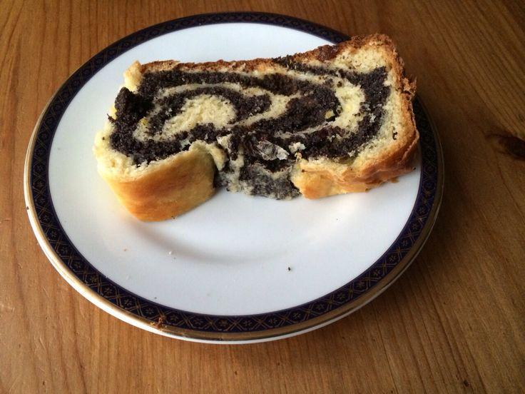 Belizian banana cake