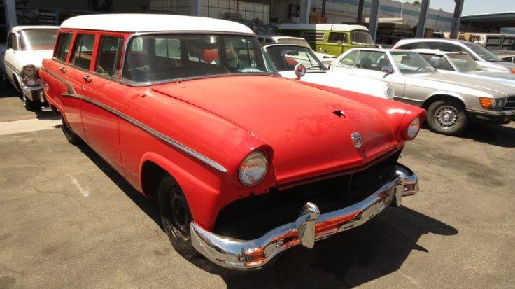 1956 Ford aus Kalifornien // Carshipping by Interfracht - since 1972