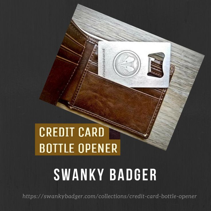 Best 25+ Credit card bottle opener ideas on Pinterest | Useful ...