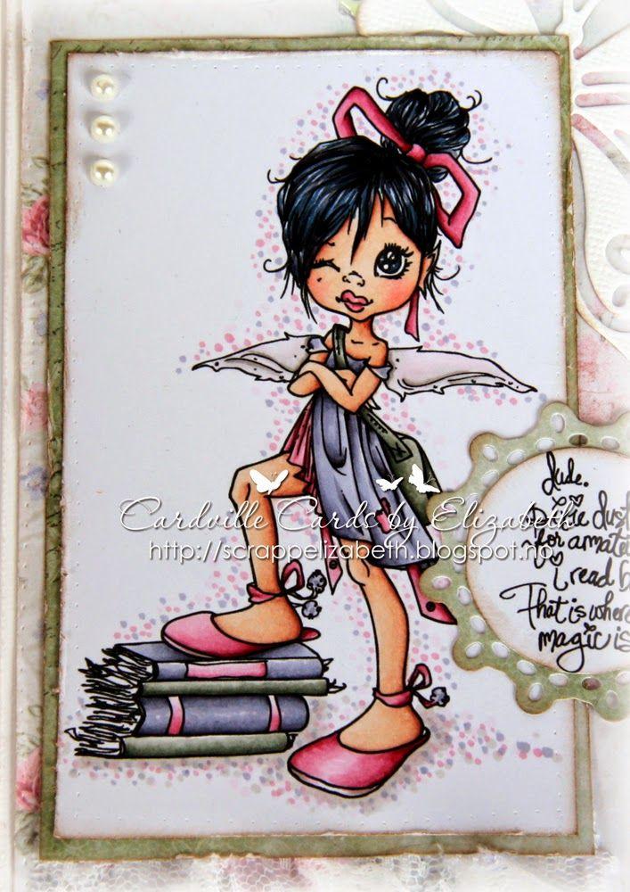Skin: E50-21-15-13 Hair: C7-5-3-1, B60-91 Dress: BV29-25-23-20 Petticoat, shoes, bow : R81-85-89, W7 Bag and books: BG99-96-93-91 Dotted ba...