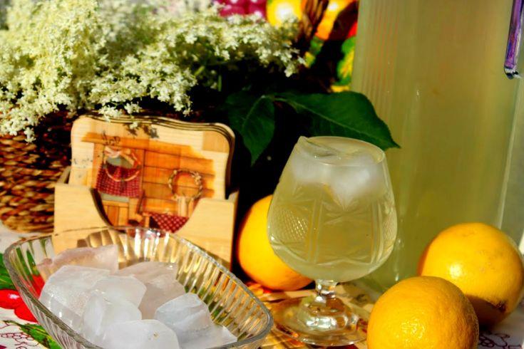 Sok od zove i limuna/ Video recept/ Domaći sok