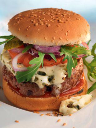 Recette de hamburger au roquefort pour un repas original !