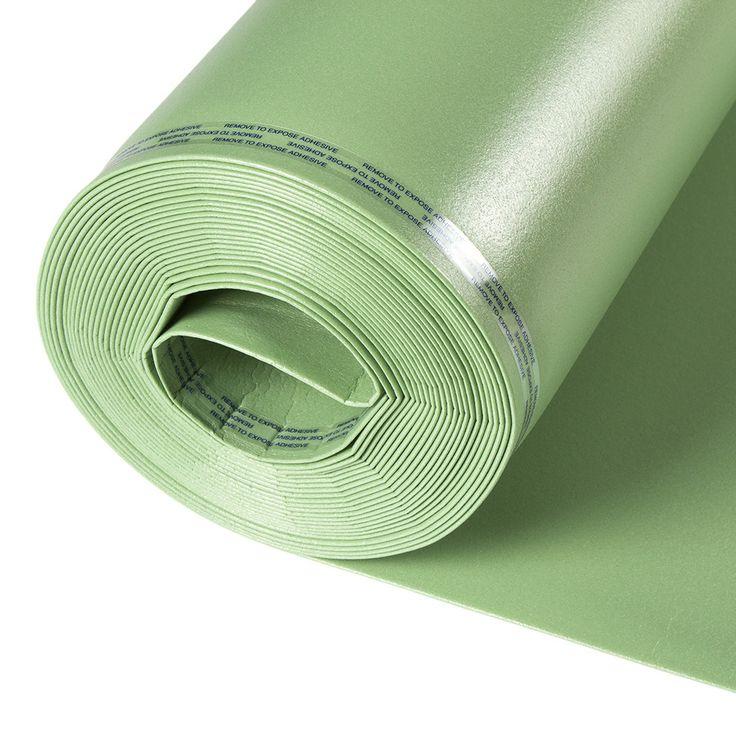 Floor Muffler Laminate Flooring Underlayment - 2mm Basic 2-in1 - Free Samples