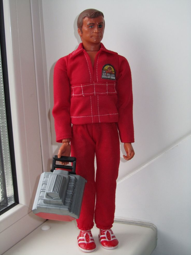 Six Million Dollar Man By Kenner my brother had this action figure lol