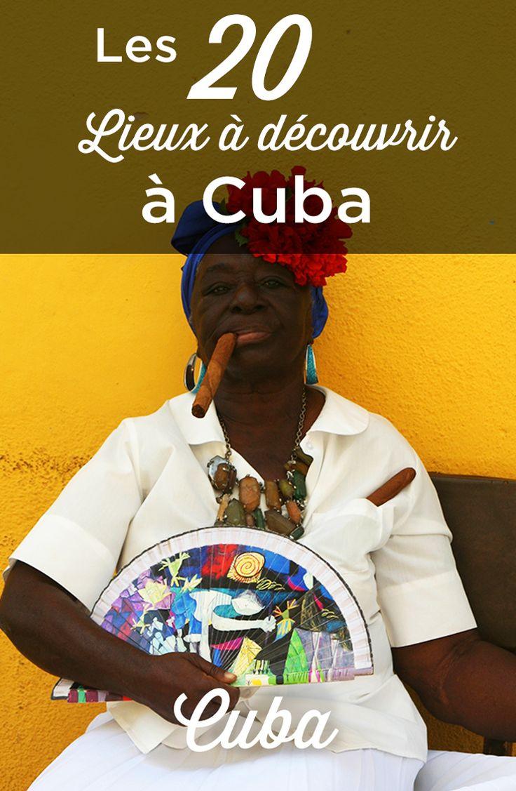 Que faire à Cuba? Découvrez les 20 lieux incontournables à voir sur l'île et préparez votre séjour à Cuba grâce à notre guide de voyage et nos conseils.