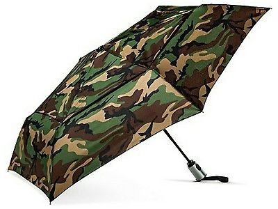 ShedRain Compact Umbrella Camo Camouflage Green Brown Black Camo Small Umbrella