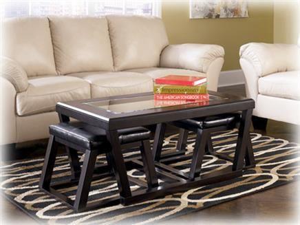 Kelton Espresso Coffee Table Set