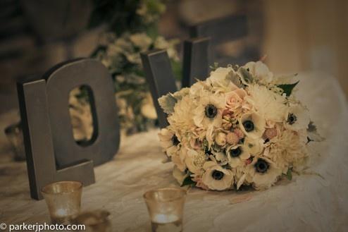 L O V E (the bouquet!)