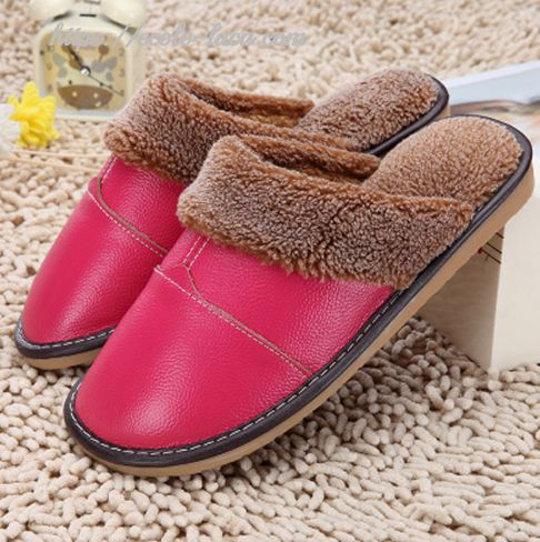 Leather Warm Slippers – Ecolo.luca