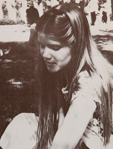 Actress Mare Winningham in the 1977 yearbook of Chatsworth High in Chatsworth, California. She was a classmate of Kevin Spacey.