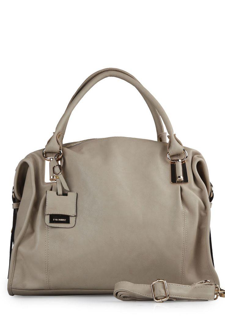 Mocca Gia leather shoulder bag