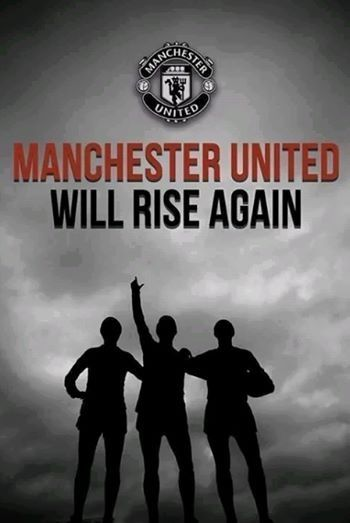 It's not whether you get knocked down; it's whether you get back up. Manchester United will rise again.