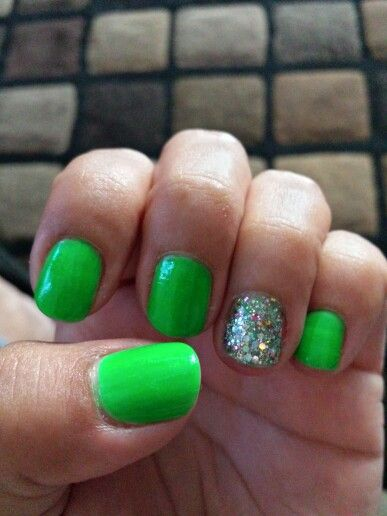25 trending neon green nails ideas on pinterest neon nails neon green nail design prinsesfo Images