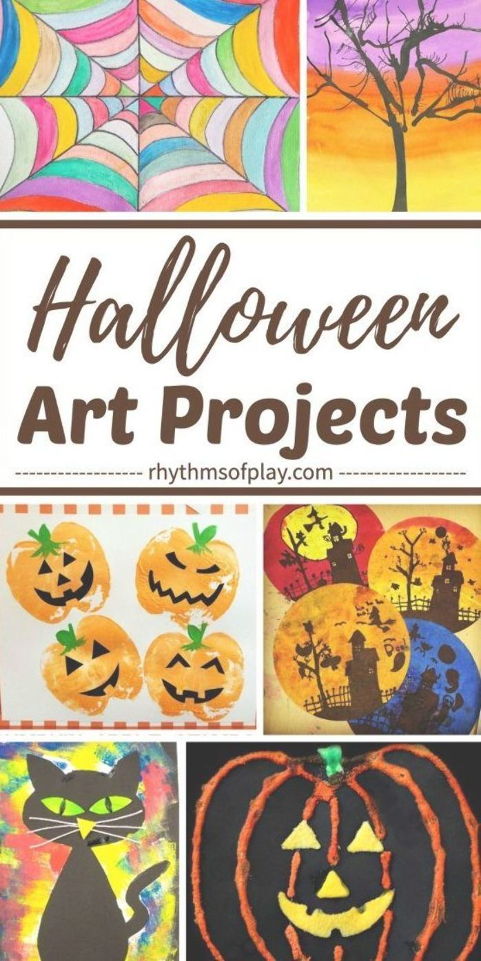 Halloween Art Projects Kids Love Here S A Round Up Of Some Spooky