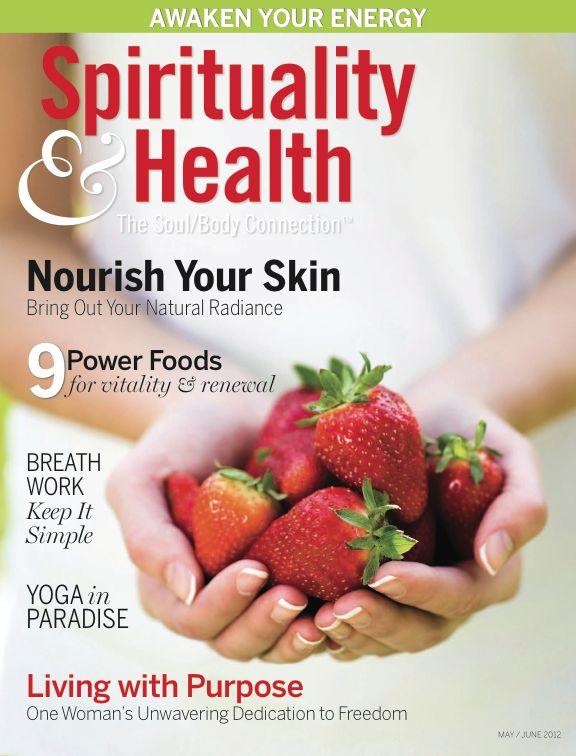Spirituality & Health Magazine Features Marie Veronique Organics' Natural Skin Care: Skincare Sales, Health Magazine, Australia Skincare