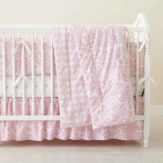 the land of nod just ordered this for my baby girls room pairing it with light grey sheets. Black Bedroom Furniture Sets. Home Design Ideas