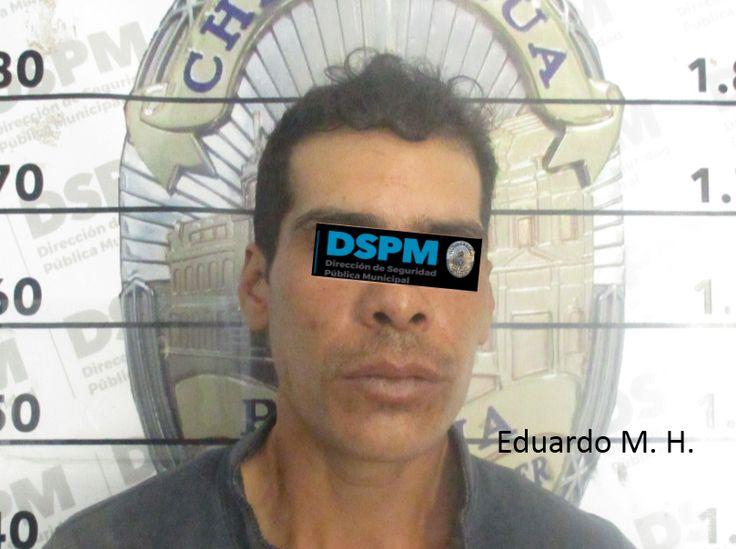 Lo sorprendió Policía Municipal con teléfono robado en la colonia Los Pinos | El Puntero